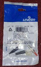 Leviton 49882-MST SC MULTIMODE THREAD-LOCK CONNECTORS - NEW Qty 8