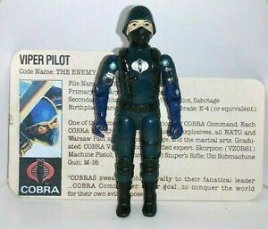 GI JOE 1983 VIPER PILOT