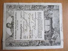 AK Wohnungskarte von Talmon Eislingen vom 10. Sängerbundfest in Wien 1928   918