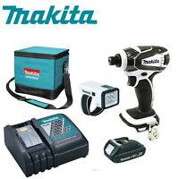 Makita LXDT04 18V Li-Ion Impact Driver Kit w/ BL1815, DC18RC & LXLM01W  NEW