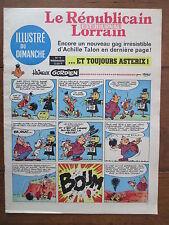 LE REPUBLICAIN LORRAIN ILLUSTRE DU DIMANCHE 9 UDERZO GREG MORRIS GRATON... 1967