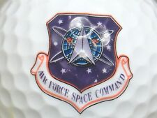 (1) Air Force Space Command United States Logo Golf Ball