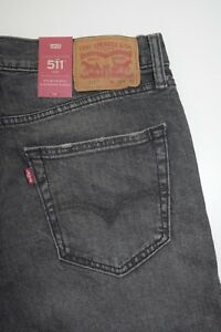 511 Slim Fit Stretch RIPPED Men's Jeans SIZE: W34 L32