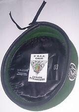 Béret Vert avec insigne TAP PARA 2°REP LÉGION ÉTRANGÈRE Taille * Size XL / TT 59