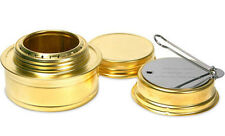Esbit Portable Outdoor Camping Cooking Brass Alcohol Stove Burner E-ALCOH-BRSS