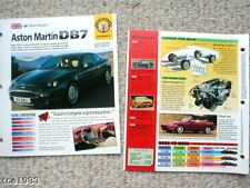 Aston Martin Brochures / Route Test Collection: Db7,Vantage,Virage,Zagato,Db-7