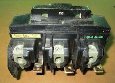 ITE 20 Amp Pushmatic Circuit Breaker  P4320 3 Pole 120/240 Volts