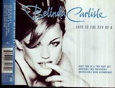 BELINDA CARLISLE Love In The Key Of C w rare tracks CD