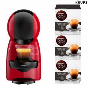 Cafetière Expresso KRUPS XS1500W 0,8 L Capsules Dolce Gusto + 3 Boites intenso