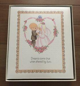Vintage Hallmark Precious Moments Wedding Keepsake Album (1998)