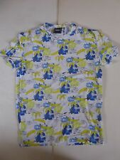VTG VERSACE JEANS COUTURE * BANANAS SHORT SLEEVE T-SHIRT L LARGE MADE IN ITALY