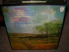 LEPPARD / HANDEL concerti grossi opus 3 ( classical ) 2lp box - philips italy -