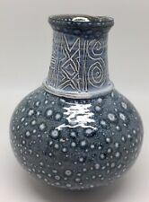 "Harray Potter Orkney Studio Pottery Vase, ""Star Glazing"",Scotland"
