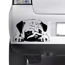 CUTE PUG DOG Lovely Vinyl Decal Sticker Car Wall Bumper Laptop Window Xbox