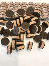 "Cork Rings 36 Recoil Burl   , 1 1/4"" x 1/2"" x 1/4"" Hole"