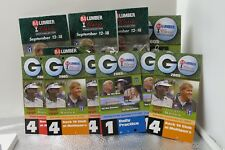 GOLF - 2005 84 LUMBER GOLF CLASSIC PACKAGE OF TICKETS TEE TIME PAIRING.