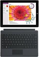 "Microsoft Surface 3 & Keyboard WiFi 64GB Tablet 10.8"" Intel Atom Quad Core SSD"