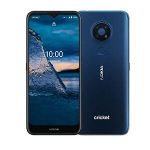 Brand New CRICKET WIRELESS 💚 Nokia C5 Endi - 64GB - Midnight Blue android phone
