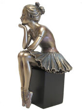 Ballet Figur Body Talk L'Attente Dancer with Cold Bronze Plated - 20412 H