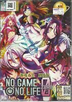 NO GAME NO LIFE ZERO THE MOVIE - COMPLETE ANIME MOVIE DVD BOX SET