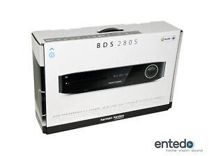 Harman Kardon BDS 280S 2.1 3D Bluray AV-Receiver Airplay 4K Spotify Schwarz HKTS