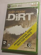 BRAND NEW XBOX 360 PROMOTIONAL PROMO COPY GAME COLIN McRAE DIRT BNIB SEALED PAL