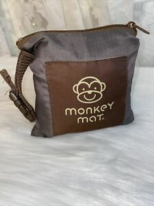 Monkey Mat Portable Multi-Purpose Compact Pouch brown PERFECT CONDITION