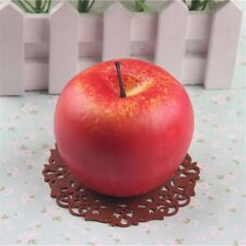 3PCS/Lot Artificial Red Apple Ornament Fruit Shop Restaurant Bar Home Decor