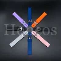 20-22 MM Soft Color Silicone Rubber Watch Band Strap For Timex Quick Release USA