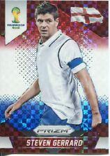 Panini Prizm WC 2014 Parallel Plaid Prizm Base Card # 139 Steven Gerrard