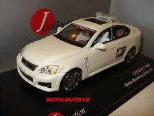 J-COLLECTION JC121 LEXUS IS-F ROLEX MONTEREY SAFETY CAR 2009 au 1/43°