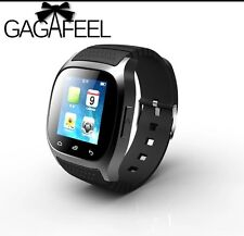 Sport Bluetooth Smart Watch PEDOMETER SMS Reminder for Android Samsung Phone