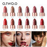 O.TWO.O Plum Blossom Lipstick Nude Rich Color Waterproof Moisturizer Lips Makeup
