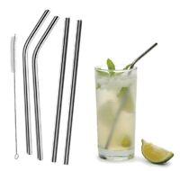 Reusable Stainless Steel Drinking Straws Metal for 30 OZ 20 OZ Yeti Rtic Tumbler