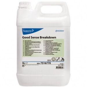 Odour Remover for Carpets & Drains 5 Litre Good Sense Breakdown by Diversey