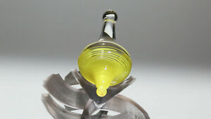 new 1.36 inch Handmade Glass Spinning Top | Lampwork by Dusty Gamble