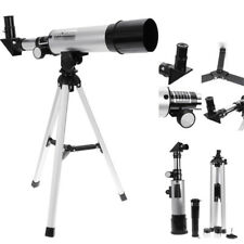 90X Adjustable Astronomical Refractor Tabletop Telescope 360X50mm with Tripod
