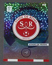 ECUSSON BADGE STADE REIMS DELAUNE FOOTBALL ADRENALYN CARD PANINI 2015-2016