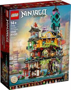 LEGO NINJAGO® City Gardens 71741 BRAND NEW AND SEALED SHIPPING 19 JAN