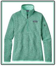 NWT Patagonia Better Sweater Jacket Fleece Women's 1/4 Zip PulloverXXS