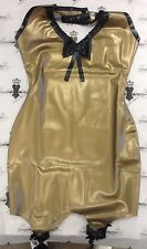 R1548/X0305 *As Shown* Size 10 UK Latex SUSPENDER GIRDLE DRESS FETISH Seconds