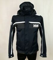 HELLY HANSEN HELLY TECH PROTECTION SAILING YACHTING MENS NAVY BLUE HOODED size S