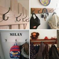 10x Patère crochets manteau classique style fer antique mur porte cintre vintage