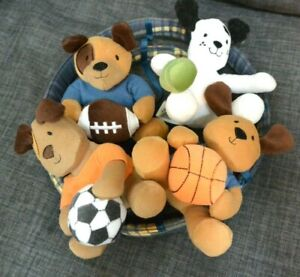 LAMBS & IVY Baby Sports Bears Bow Wow Buddies Crib Mobile - Without Hanger