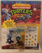 Teenage Mutant Ninja Turtles Mouser TMNT 1990 Wacky Action Wacky Walkin' Mouser