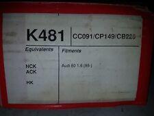 FOR VW AUDI 80 1.6 CLUTCH KIT EBC K481 INA F 211587.1 SACHS 068100 LUK 02614103
