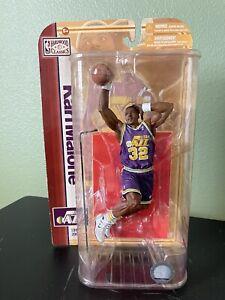 "Mcfarlane NBA Legends Series 5 Karl Malone Utah Jazz 6"" Scale"