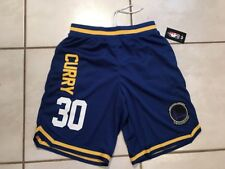 NWT UNK NBA Golden State Warriors Stephen Curry #30 Shorts Men's Large