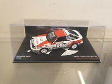 ixo / altaya - 1990 TOYOTA CELICA GT-FOUR - C. SAINZ - 1/43 SCALE MODEL CAR