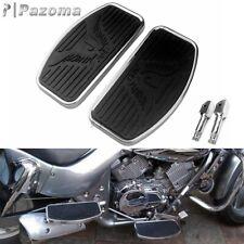 Driver Rear Passenger Foot Peg Floorboards Footboard For Honda VTX 1300 VTX 1800